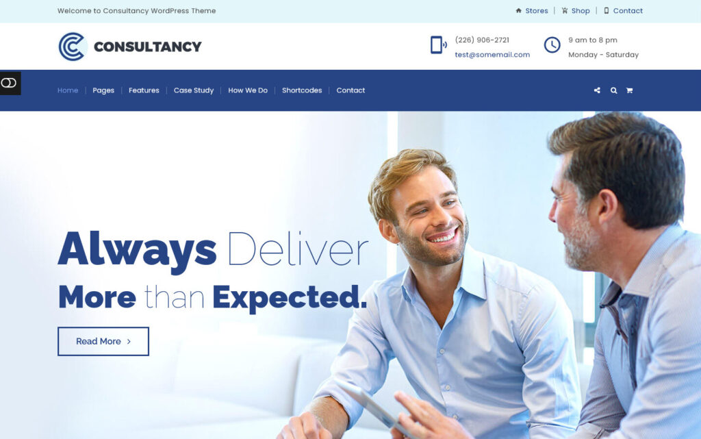 Consultancy WordPress Theme for Accounting Companies