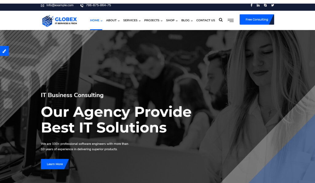 IT Solutions – IT Solutions Multi Services WordPress Theme