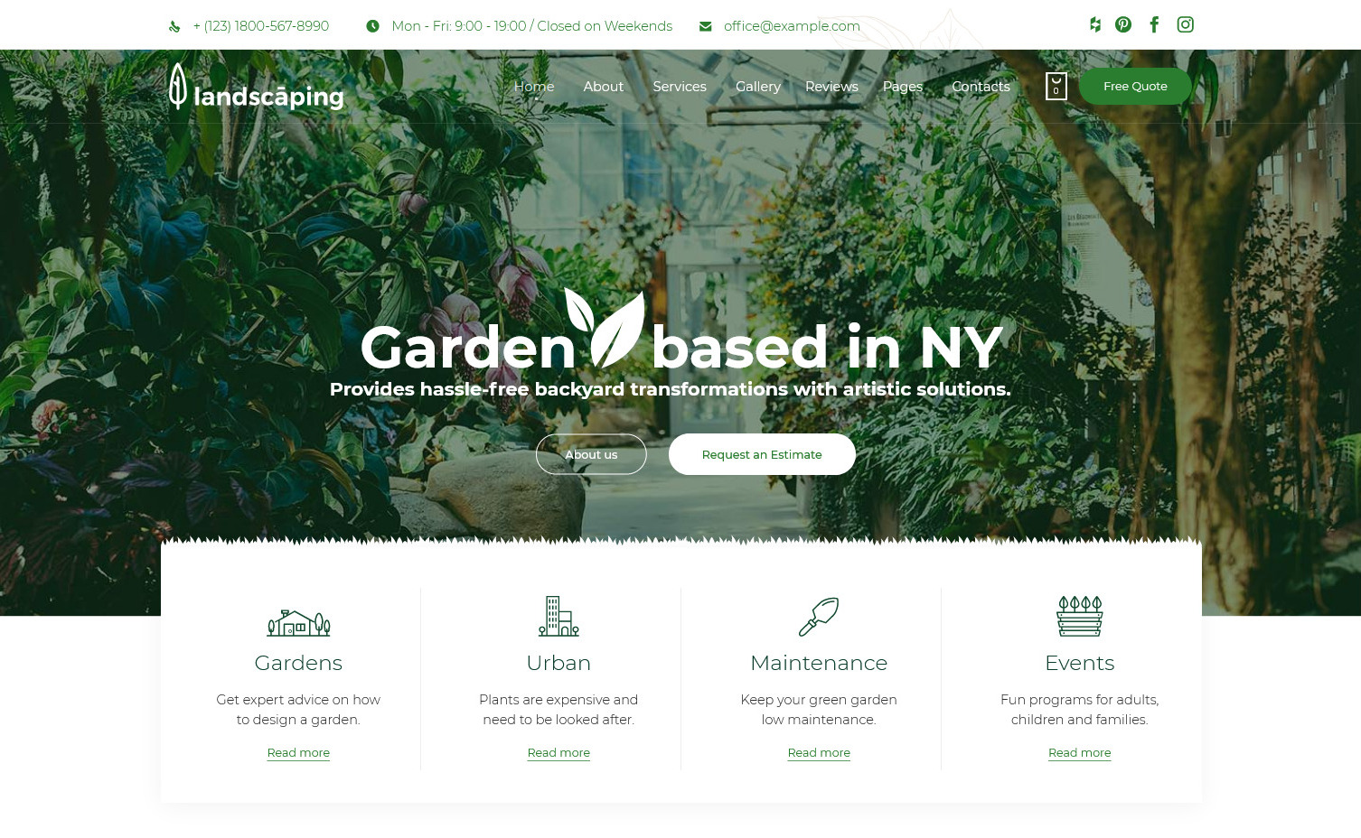 Landscaping Garden Landscaper