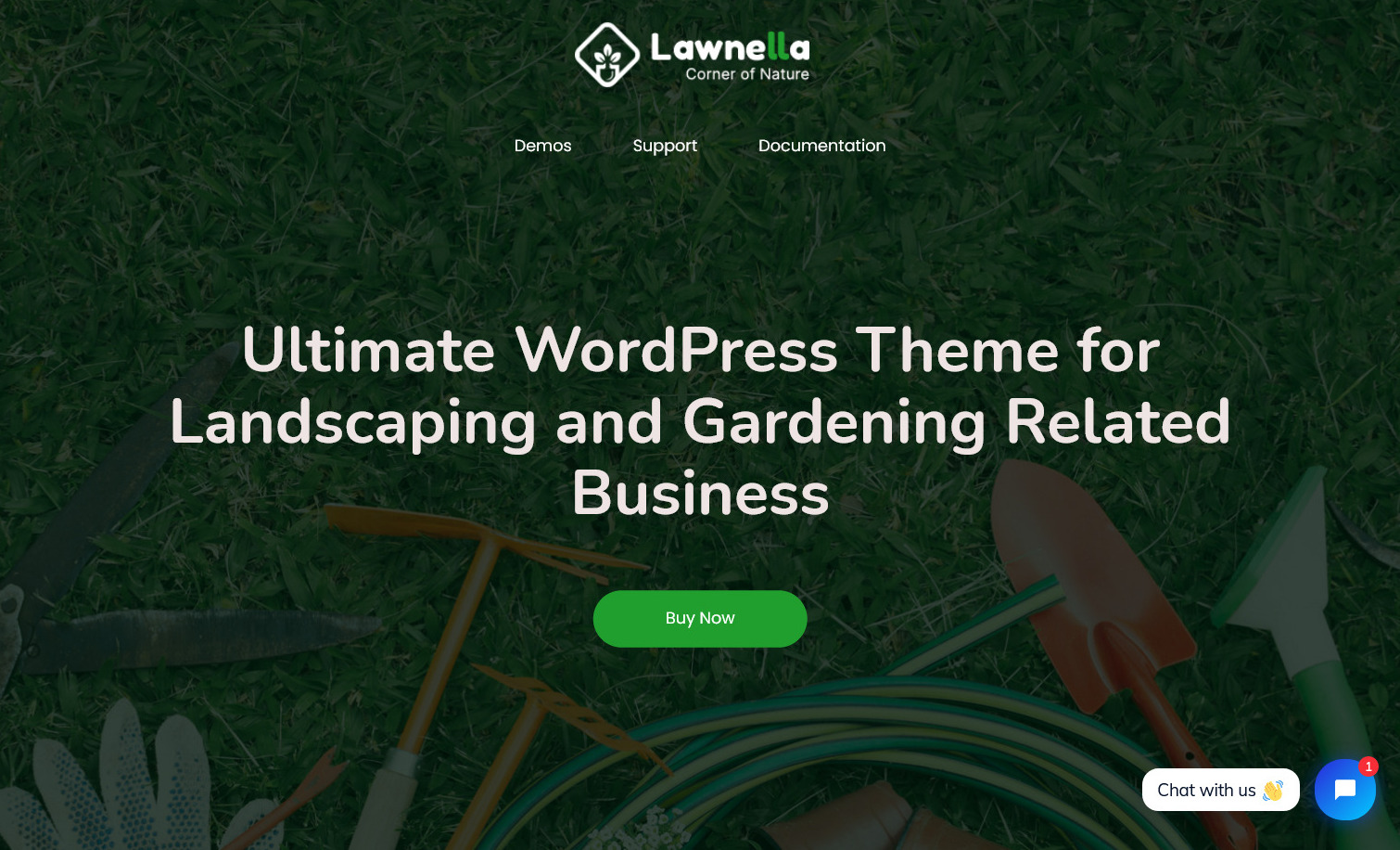 Lawnella Landscaping and Gardening WordPress Theme