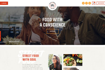 MEALS WHEELS Street Food and Fast Food WordPress Theme