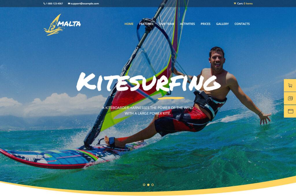 Malta – Windsurf Centre – Windsurfing WordPress Theme