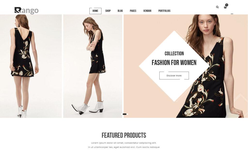 Rango T Shirt and Fashion Store Theme
