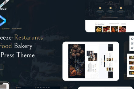 SeaBreeze Themeselector – Restaurant and Cafe WordPress Theme