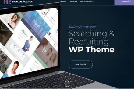 Employment Center WordPress Themes