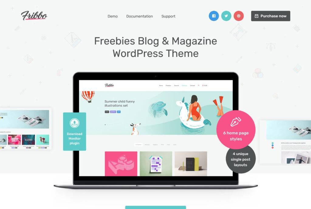 Fribbo Newsletter WordPress Theme