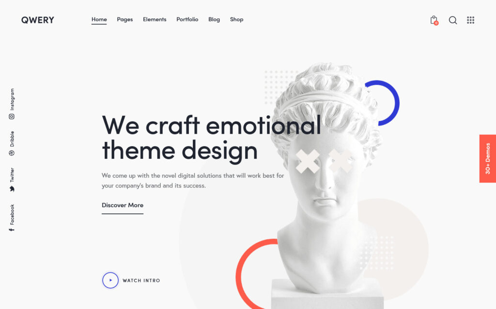 Qwery Ultimate Multipurpose WordPress Theme for Newsletters