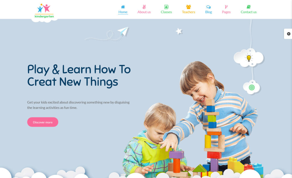 StarKid Childcare WordPress themes