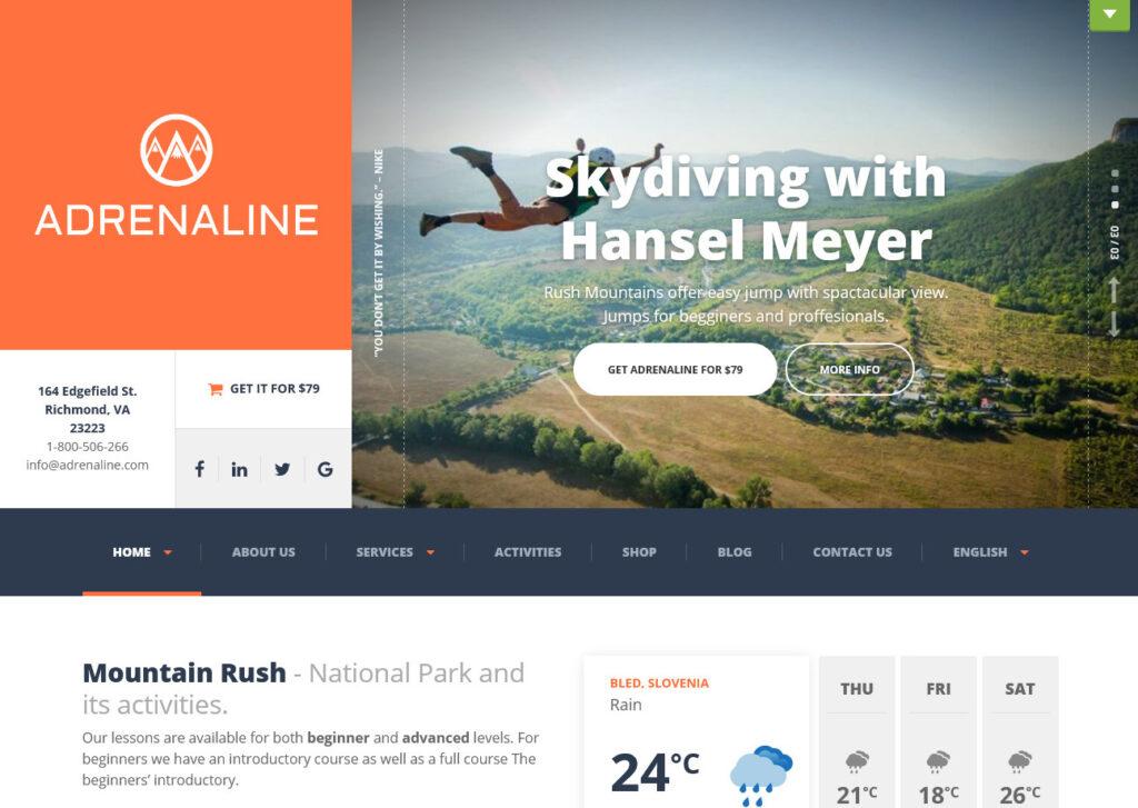 Adrenaline Get your site visitors heartbeats racing