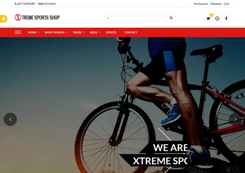 Extreme Sports WordPress Themes