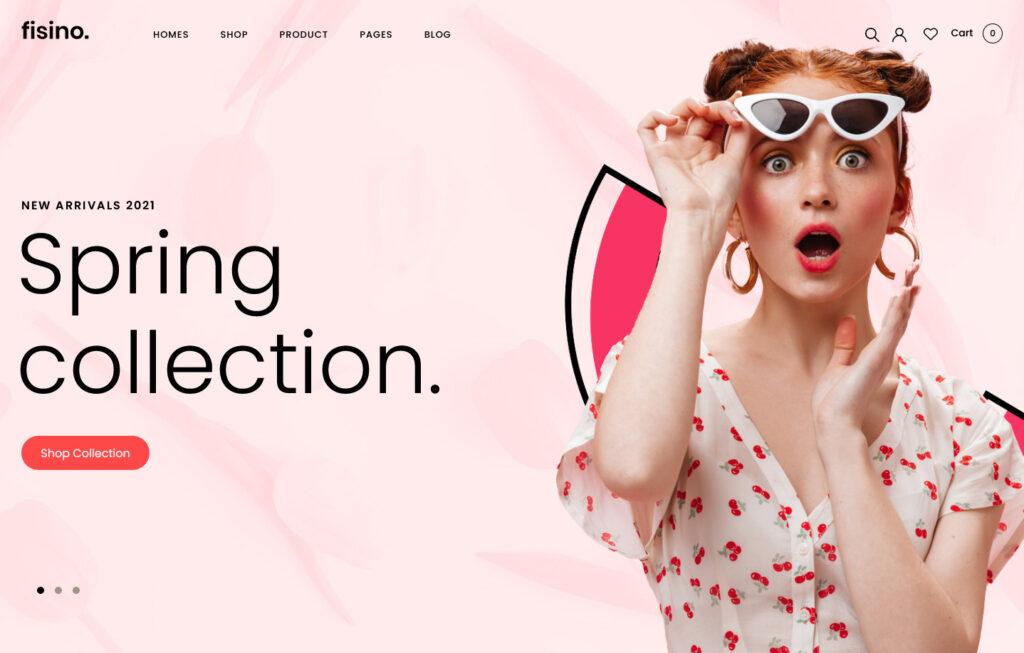 Fisino Fashion WooCommerce WordPress Theme
