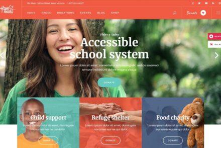 Fundraising WordPress Themes