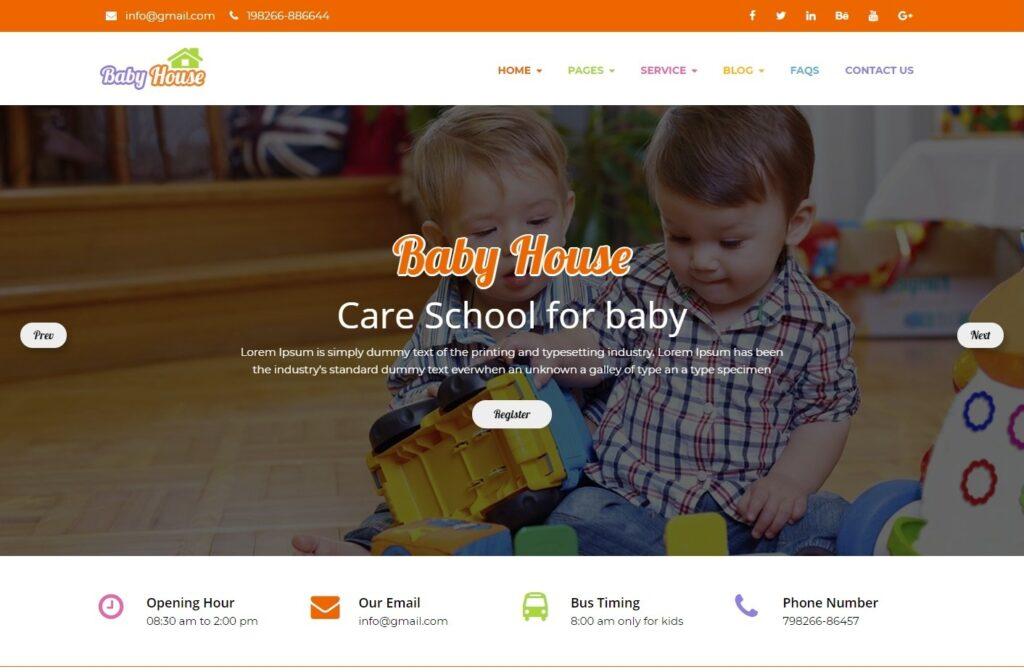 Kids WordPress Themes