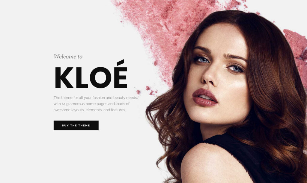 Landing Page – Kloe