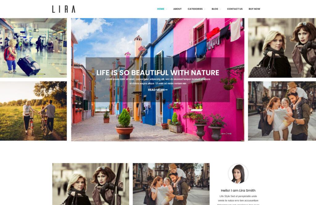 Lira Affiliate Blog WordPress Theme