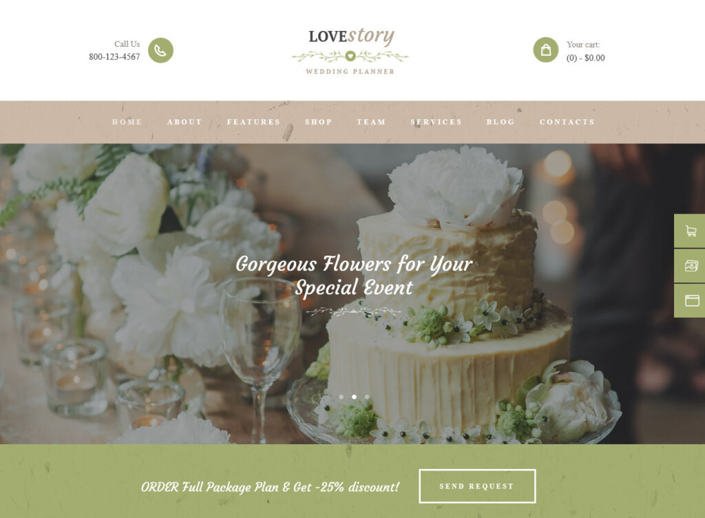 LoveStory – Wedding Planner – Just another WordPress site