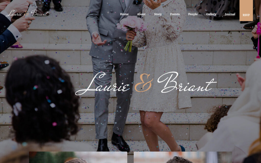 Lovus Wedding and Wedding Planner WordPress Theme