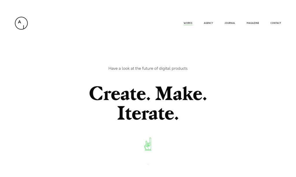 Airtifact Clean Minimal Graphic Design WordPress Theme