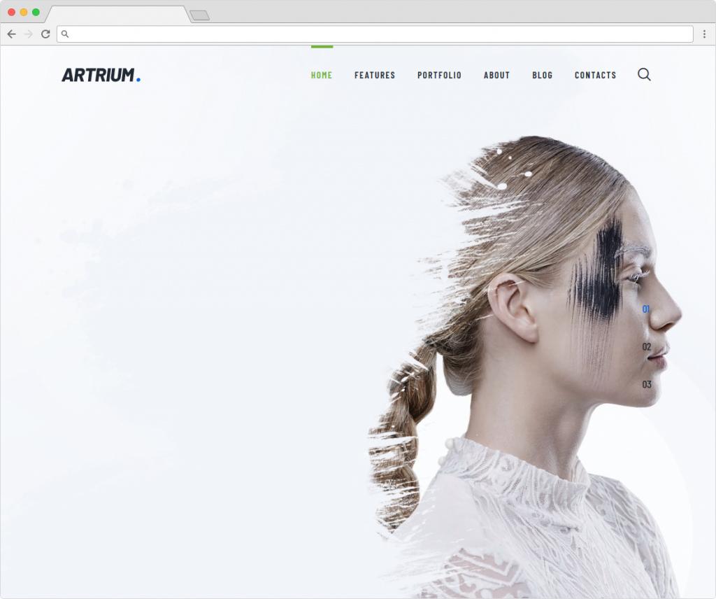 Artrium Creative Graphic Design Studio WordPress Theme
