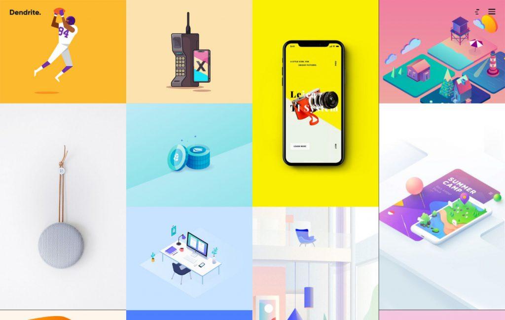 Dendrite Creative Agency Portfolio Theme