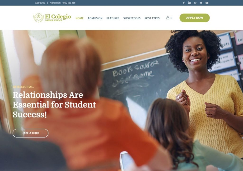 El Colegio Education and Learning Management System Word