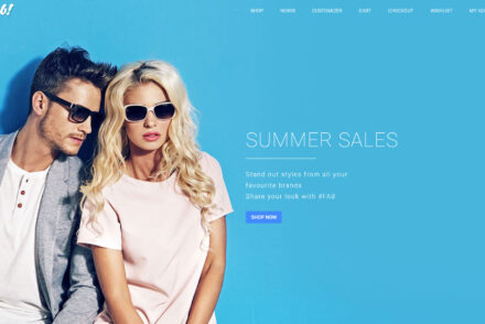 Fab the Ultimate Material Design Ecommerce WordPress Theme