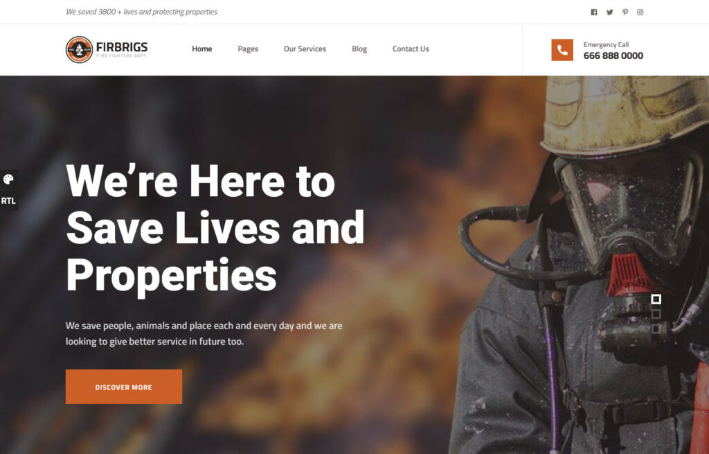 Firbrigs – Premier Fire Rescue Services System