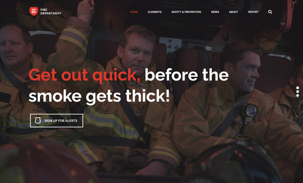 Fire Department Theme for WordPress
