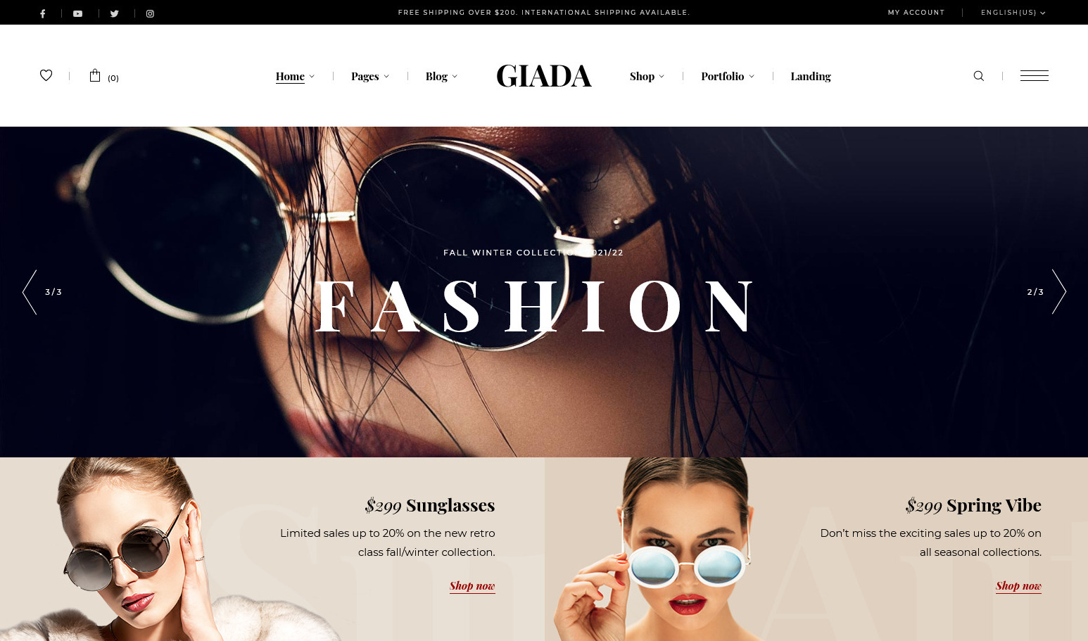 Giada Multipurpose Jewelry and Watch Store Theme