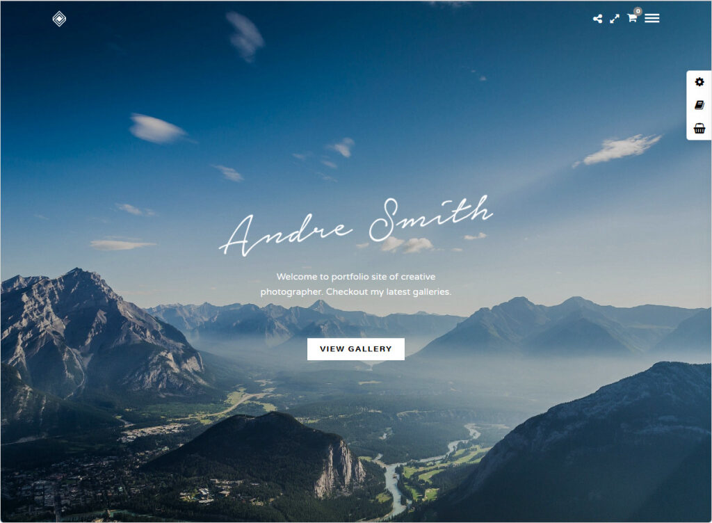 Grand Portfolio Clean Simple Elegant Creative Agency Portfolio Theme