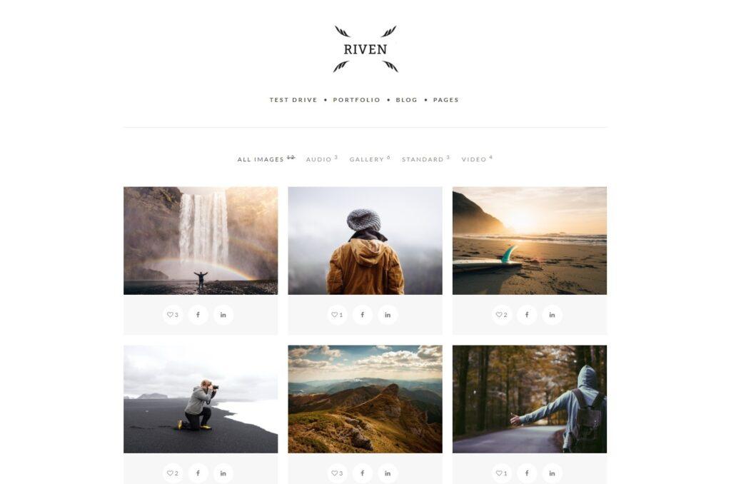 HyperX Creative Agency Portfolio with Strong Social Media Presence
