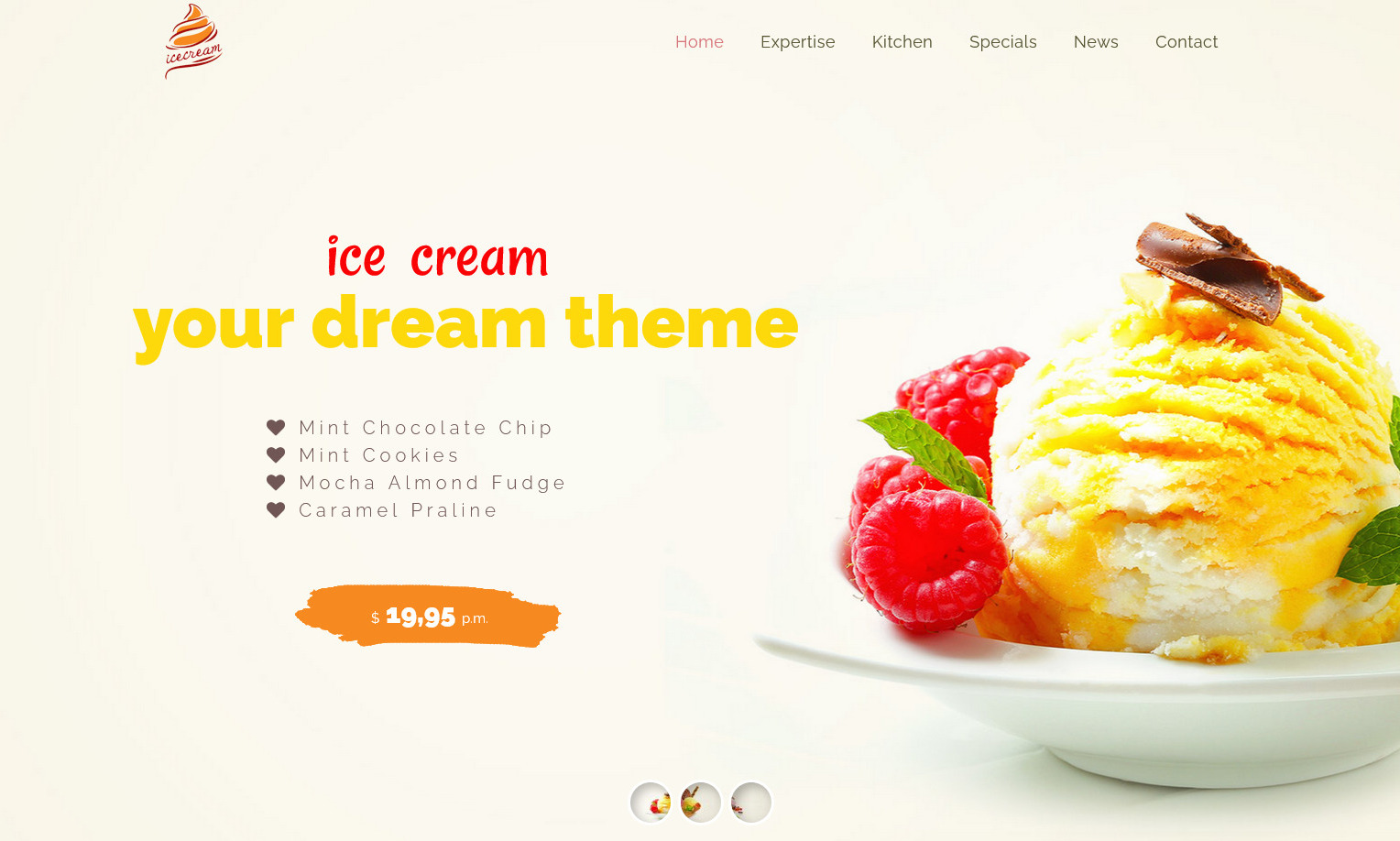 Ice Cream A Food Store Demo for Ice Cream Parlors