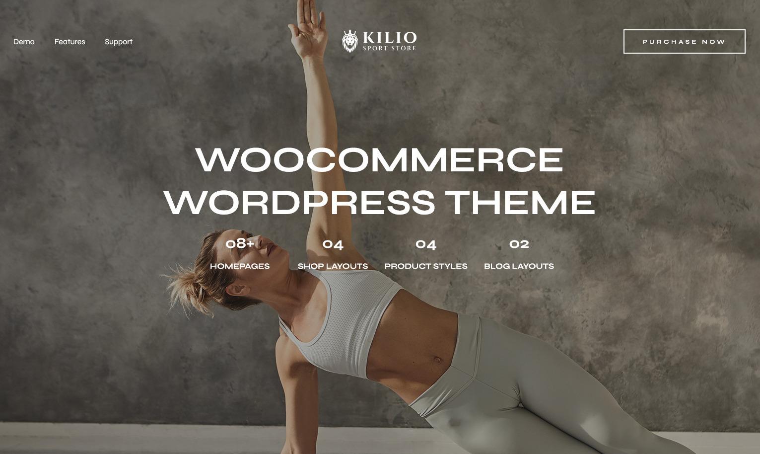 Kilio Sport WordPress Sports and Sporting Goods Theme