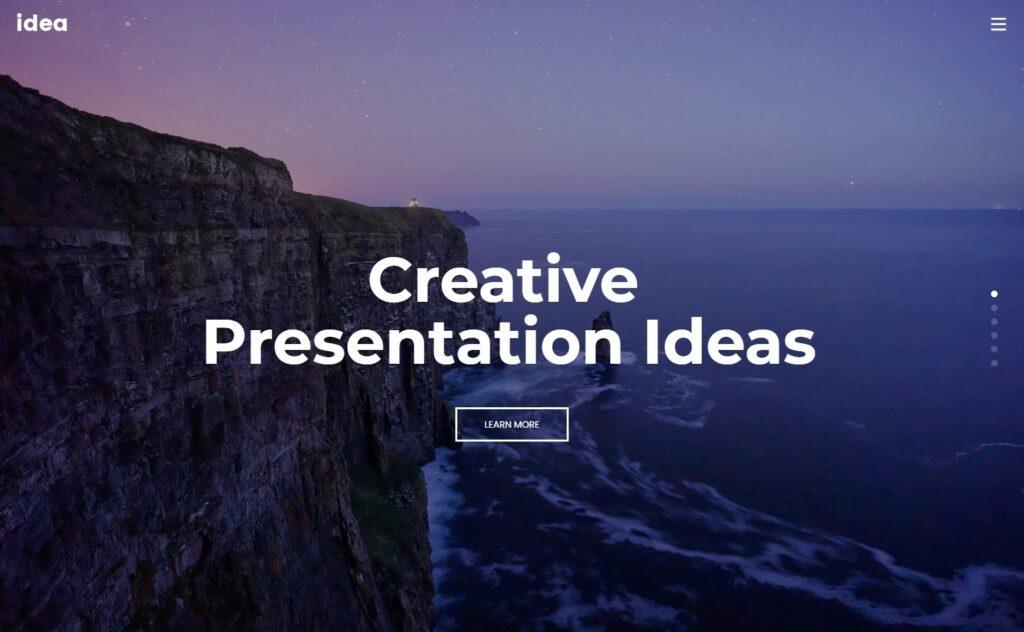 Massive Dynamic One Page Design Portfolio Theme for WordPress
