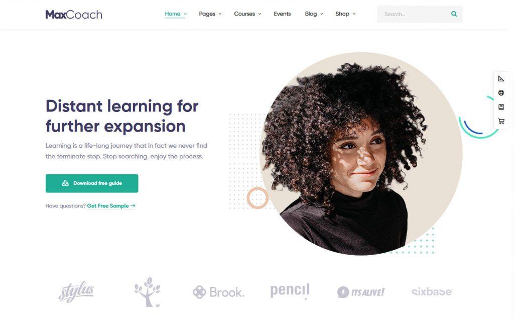 MaxCoach WordPress Education Theme