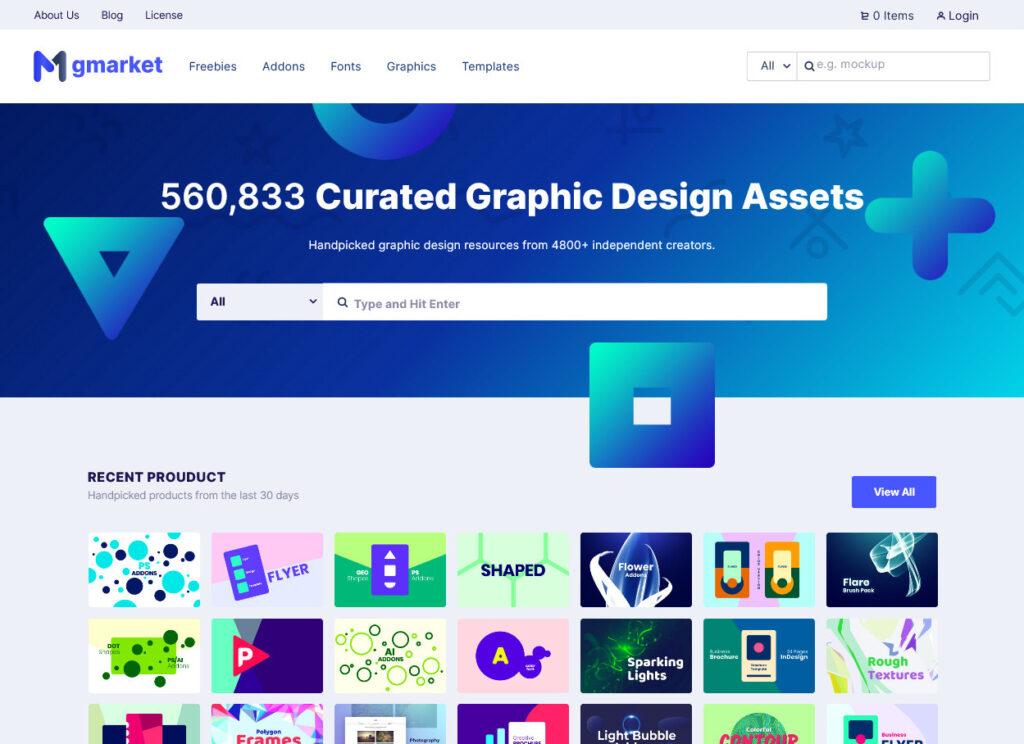 Mayosis – Graphic Market and Micro Job Platform Theme