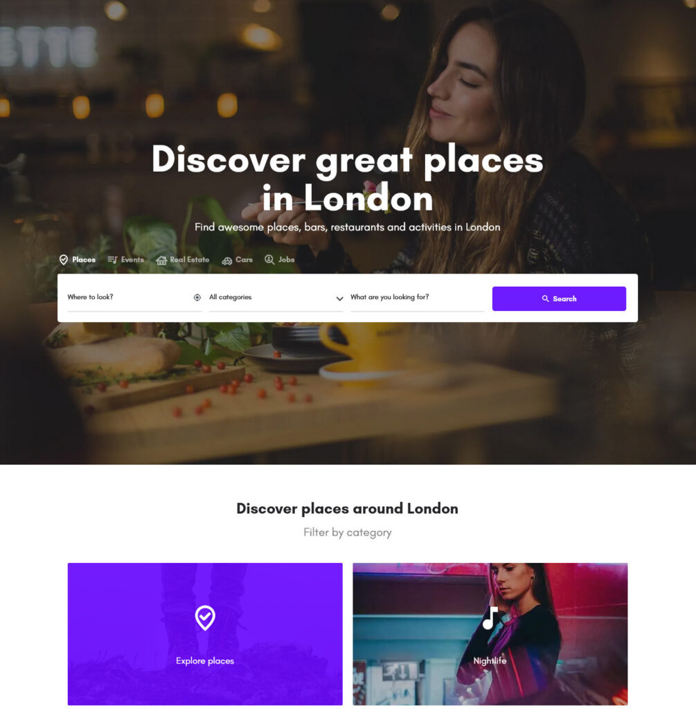 MyListing Theme Main Demo City demo – Just another MyListing Demos site