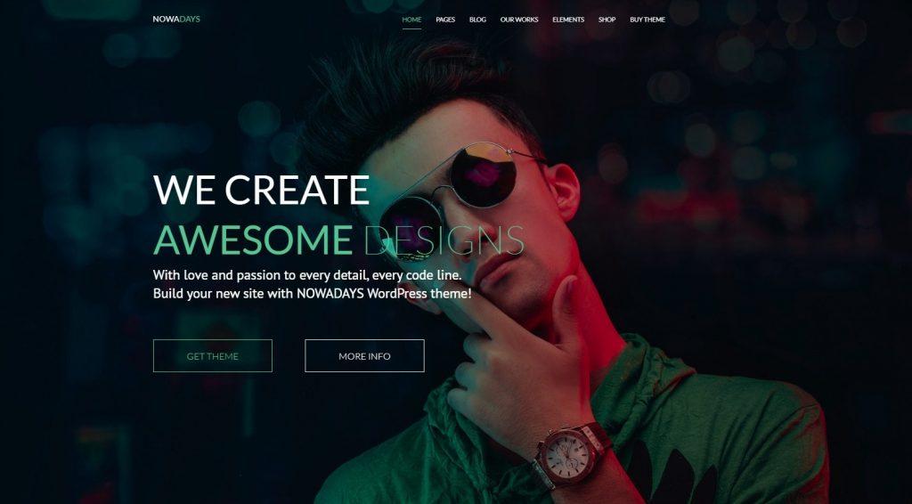 NowaDays Multipurpose WordPress Theme Creative Agency
