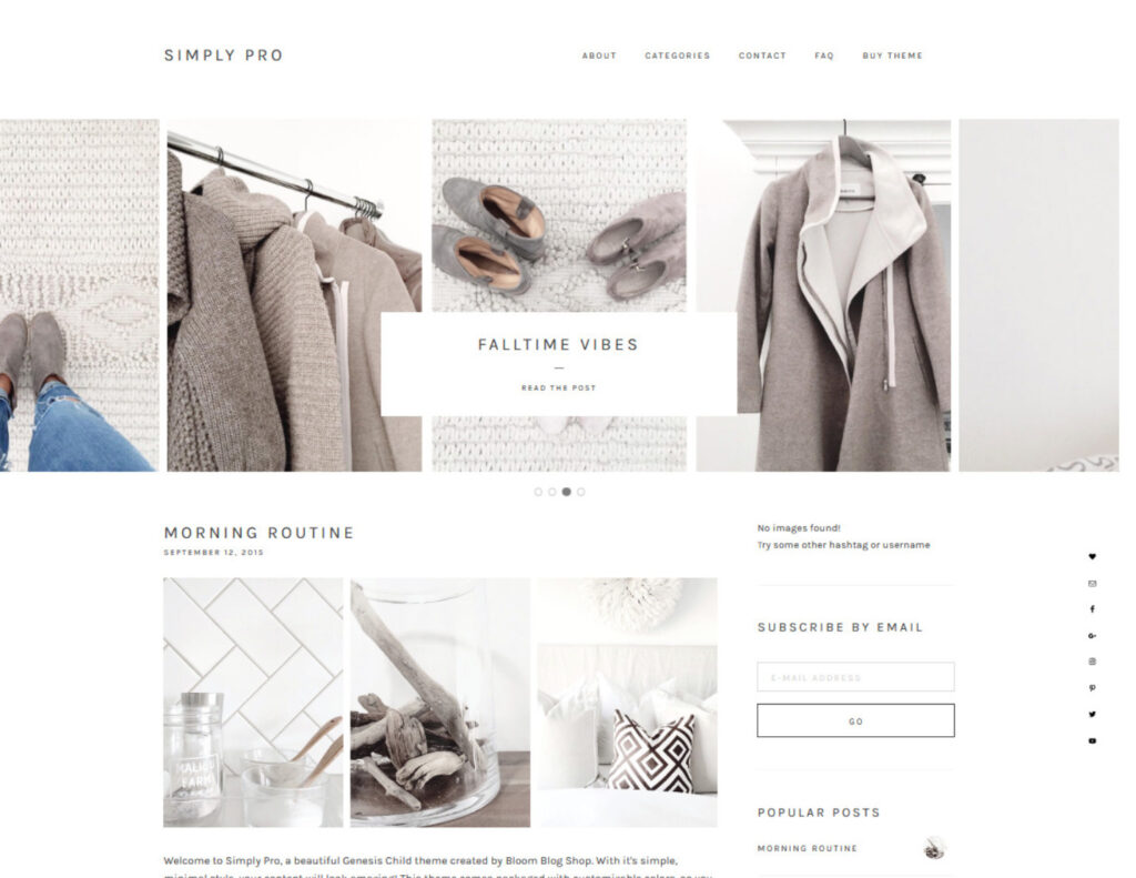Simply Pro WordPress Minimal Creative Agency Portfolio Theme