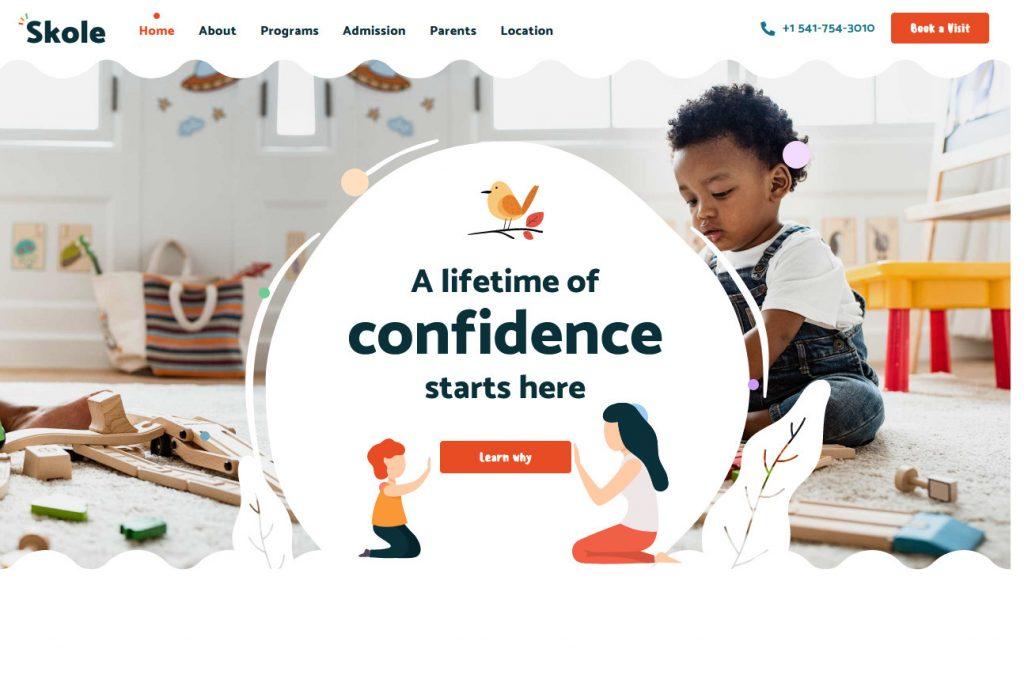 Skole Childhood Education and Kindergarten Theme 1 1024x683 1