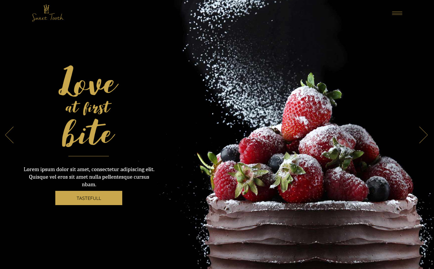 SweetTooth Ice Cream Parlor and Cake Shop WordPress Theme