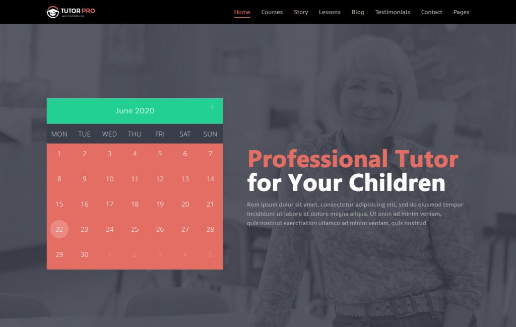 Tutor Pro Education WordPress