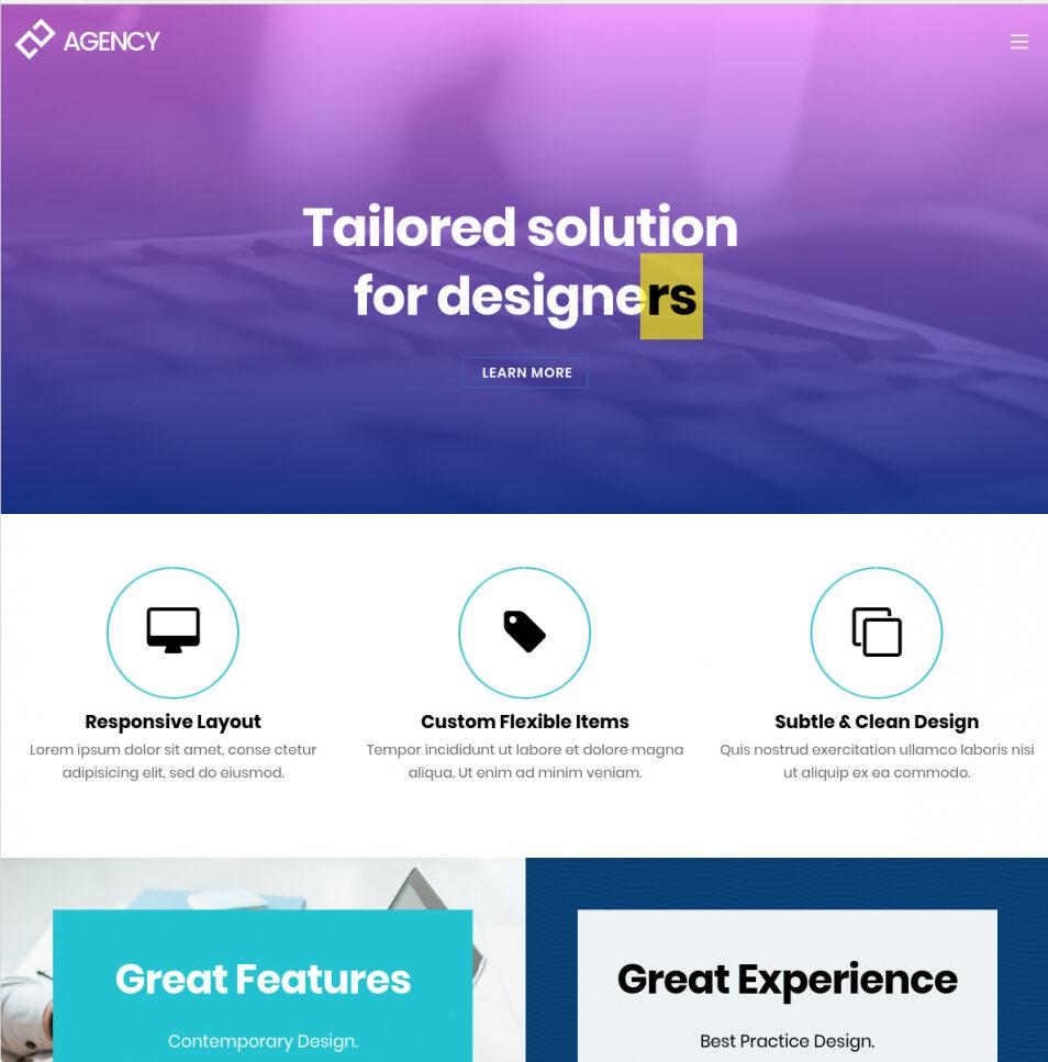 Ultra Modern Creative Creative Agency Portfolio Theme