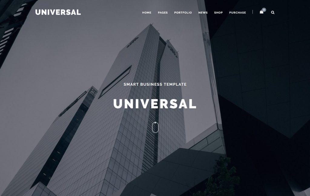 Universal Creative Agency Multi Purpose WordPress Theme