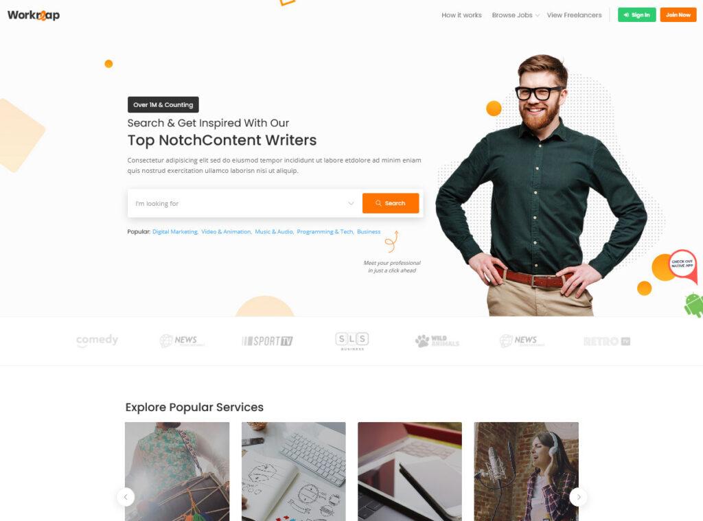 Workreap – Top Freelancer Marketplace WordPress Theme – Workreap – Top Freelancer Marketplace WordPress Theme
