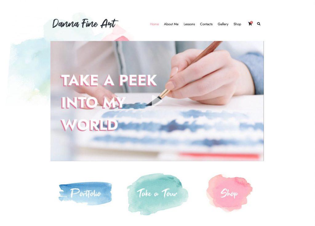 YourWay Graphic Artists Portfolio WordPress Theme