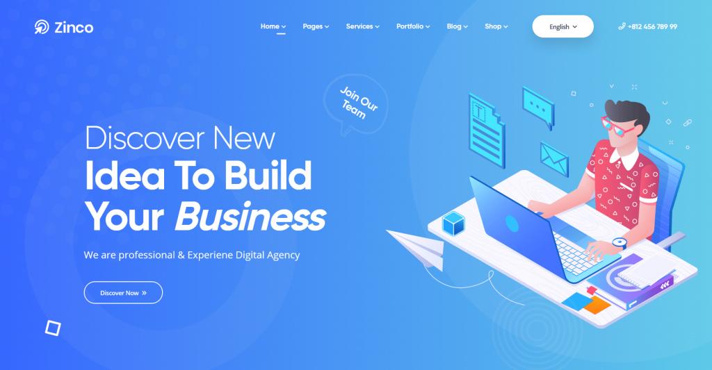 Zinco WordPress Agency And SEO Theme