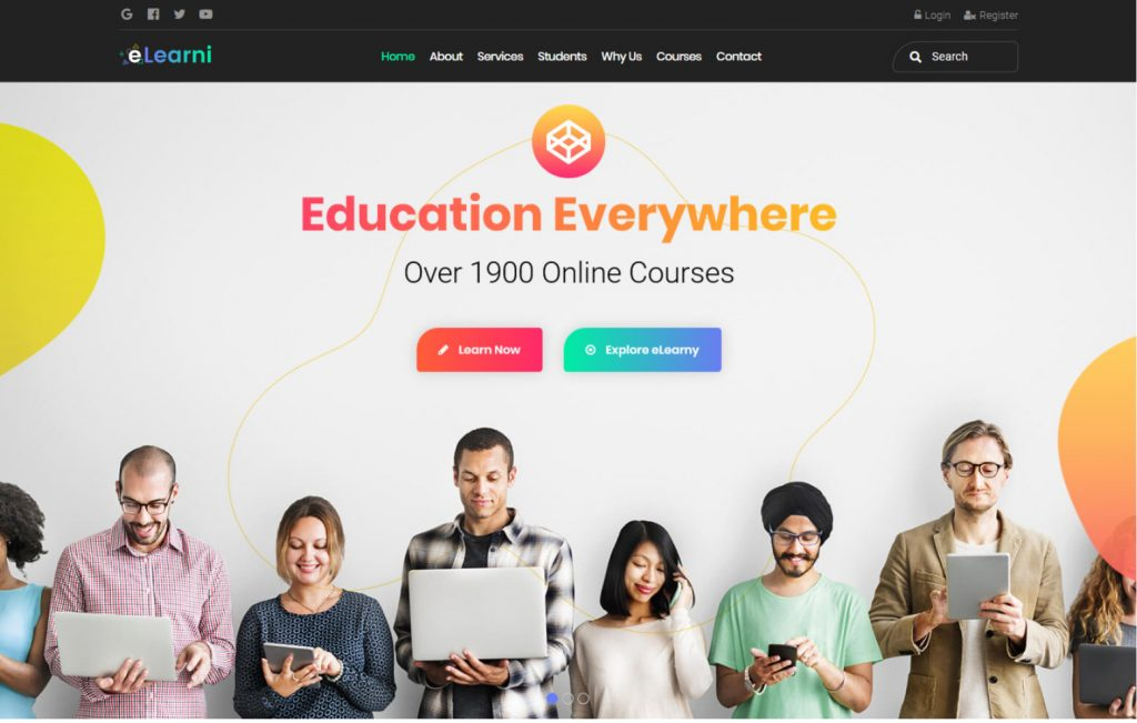 eLearni Online Learning Education LMS Digital Academy