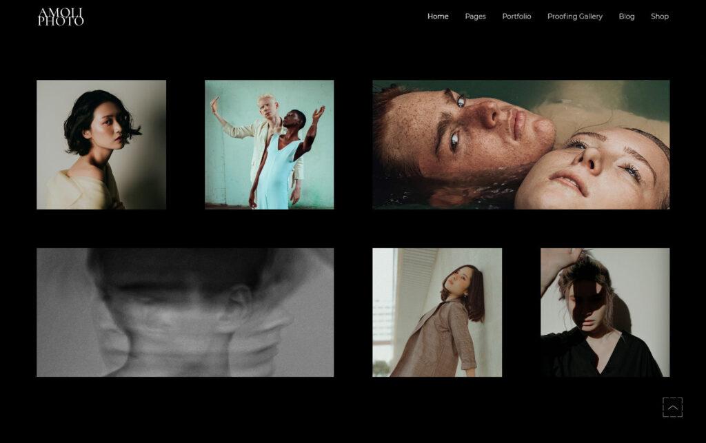 Amoli Fashion Photography Theme