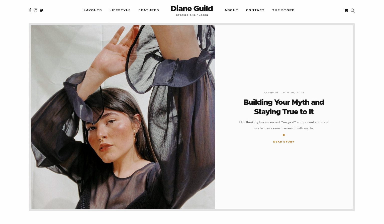 Diane Guild Stories and Places for Personal and Lifestyle Blogs
